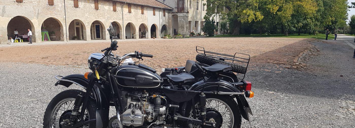 sidecar tour in Milan